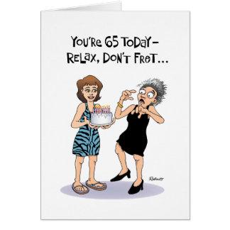Women's 65th Birthday Greeting Card
