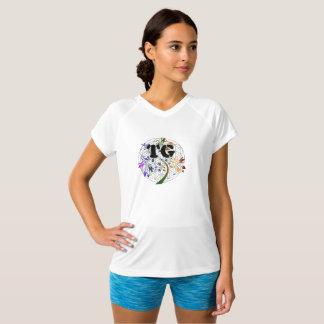 Women's Active Dri Shirt TG Flower Of Live Design