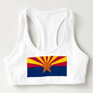 Women's Alo Sports Bra with flag of Arizona