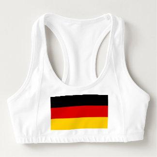 Women's Alo Sports Bra with flag of Germany