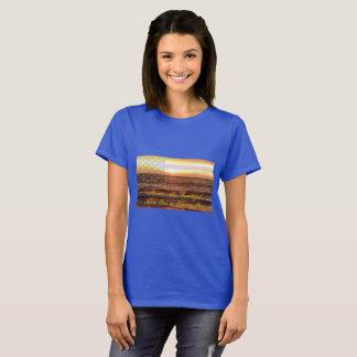 Women's America the Beautiful Basic T-Shirt