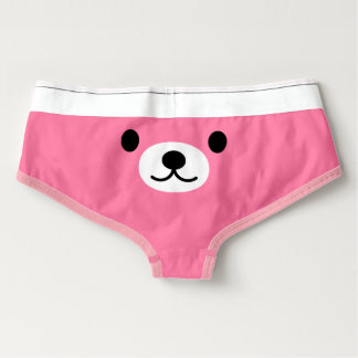 Women's American Apparel Briefs: Teddy Bear Briefs