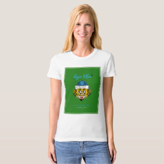 Womens Army Green T-shirt (Modern Style)