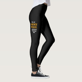 "WOMEN'S ""ARMY WIFE"" SPANDEX LEGGINGS"