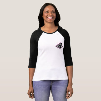 Women's Barberk3012 3/4 sleeve canvas tshirt