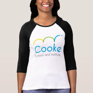 WOMEN'S Baseball tee, Cooke logo T-Shirt