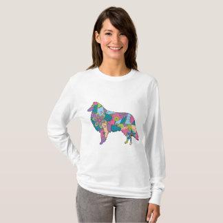Women's Basic Long Sleeve T-Shirt Collie