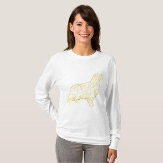 Women's Basic Long Sleeve T-Shirt Golden retriever
