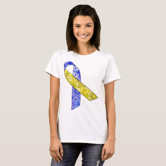 Women's Basic T-Shirt Down syndrome awareness