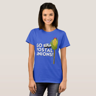 Women's Basic T-Shirt - Go Postal Unions!
