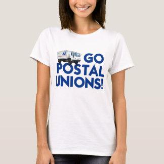 Women's Basic T-Shirt - Go Postal Unions!
