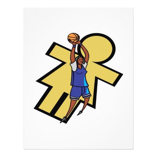 Womens Basketball Custom Flyer