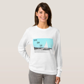 Women's Beach Bum Life Basic Long Sleeve T-Shirt