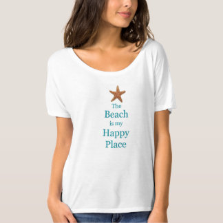 WOMEN'S BEACH STARFISH T-SHIRT