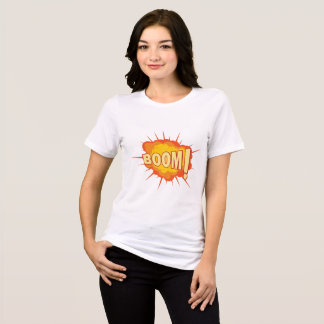 Women's Bella+Canvas T-Shirt with Explosion print
