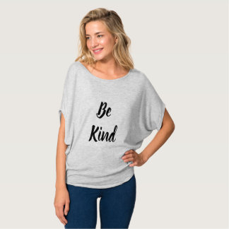Women's Bella Circle Flowy Top - Be Kind,Be Spirit