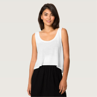 Women's Bella Flowy Crop Tank Top