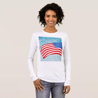 """Women's Bella  Tee Shirt """"God Bless America"""""""