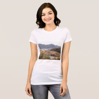 "Women's Bella Tee Shirt ""Rattlesnake Cove"""