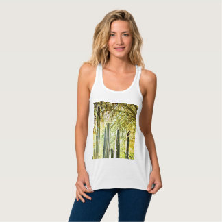 Women's Bella Vee Neck Tee Shirt