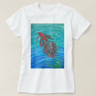 Women's 'Betta Splendens' T-Shirt
