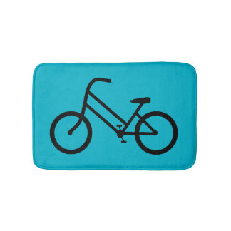 Women's Bicycle Bath Mat