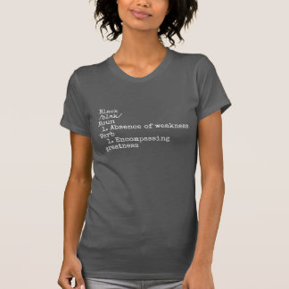 Women's Black By Definition T-Shirt