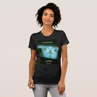 """Women's Black Crew Neck """"The Deliverance Boys"""" T T-Shirt"""