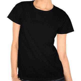 Women's black normal people scare me tee shirt