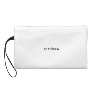 womens blue and white wristlet by chapel brook