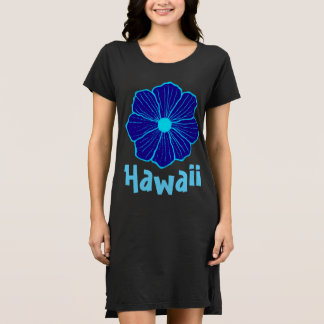 Women's Blue Hawaii Hawaiian Nightgown T Shirt