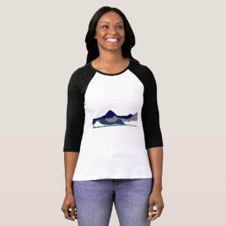 Womens Blue Mountian's Top T-shirt