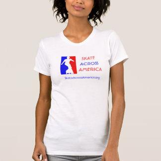 Women's Cami - Skate Across America T-Shirt