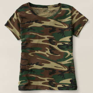 Women's Camouflage T-Shirt