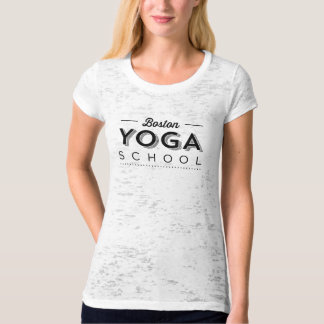 Womens Canvas Fitted Burnout T-Shirt