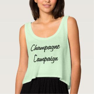 Women's Champagne Campaign Tank
