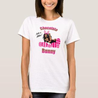 Womens Chocolate Bunny T-Shirt
