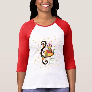 "Women's Christmas Shirt ""My true love"" Personalize"