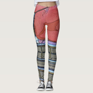 Women's Classic car grille as art leggings