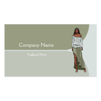Women's Clothing 2 Pack Of Standard Business Cards