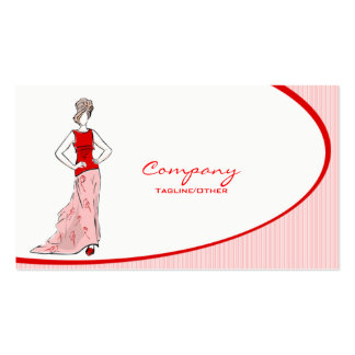 Women's Clothing Pack Of Standard Business Cards