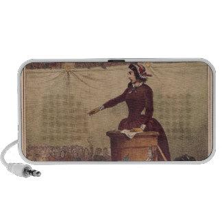 Women's Club, c.1848 iPhone Speakers