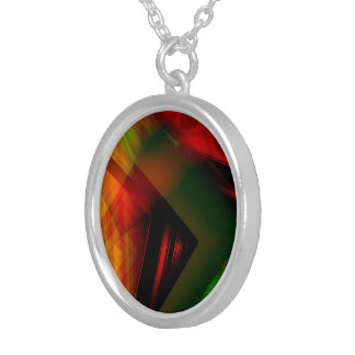 Women's colored necklace