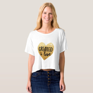 Women's 'Created 4 Love' T-Shirt