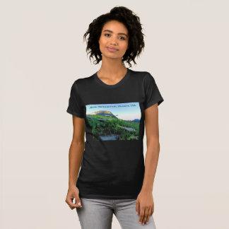 Women's Crew Neck Glacier National Park T-Shirt