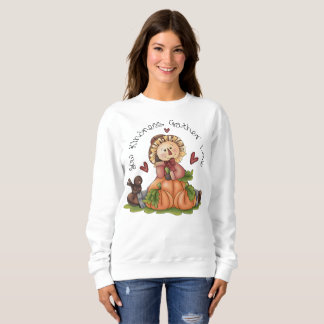 Women's Custom Autumn Sweatshirt