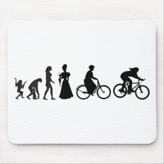 Women's Cycling Evolution Mousepads