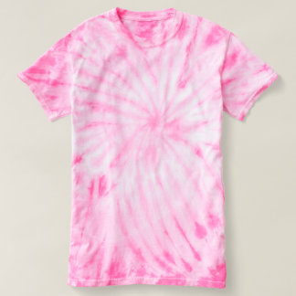 Women's Cyclone Tie-Dye T-Shirt pink