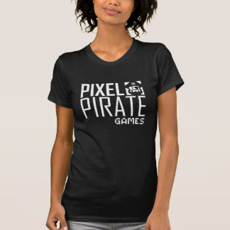 Women's Dark T-Shirt - Pixel Pirate Games Logo