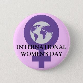 Women's Day Button
